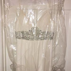 White prom/ formal dress